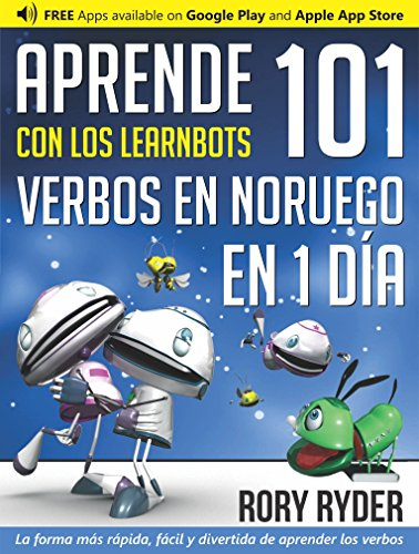 Aprende en 1 día 101 verbos en Noruego con los LearnBots®
