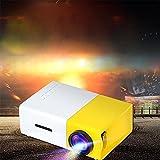 Mini Beamer, Stoga YG300 Mini geführtes 1080P volles HD Minikino-Projektor HD Beamer-beweglicher Miniprojektor - 7