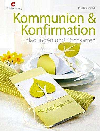 Kommunion U0026 Konfirmation: Einladungen Und Tischkarten