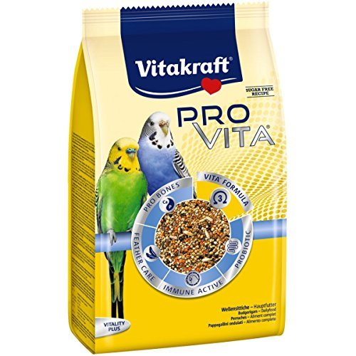 Vitakraft Pro Vita, Wellensittich Futter - 800g