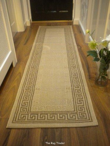 The Rug Trader Lorenzo - Alfombra de pasillo beis, 60x 230cm