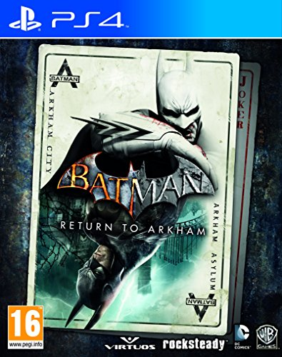 Ps4 Batman: Return To Arkham (Asylum + Arkham City) (Eu)