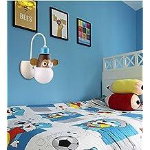 Habitación de los niños dormitorio moderno minimalista lámpara chandelier LAMP niños Kids Room Animal Cartoon chandelier ( Estilo : Wall Models - Little Monkey )