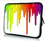 Funky 10,1-10,2 Zoll Tablet Hülle, Laptoptasche - Zoll Fall Neopren für Notebooks Dell HP MacBook Samsung Apple Toshiba (Paint)