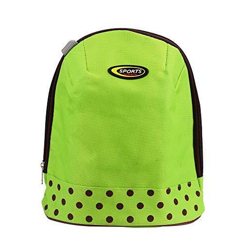 KonJin Picknicktasche Lunch Box Cooler Zipper Bag Bento Dot Tote Mittagessen Beutel kleine Muster Lunch Tasche Thermotasche Picknicktasche Mittagessen Tasche Bento Box