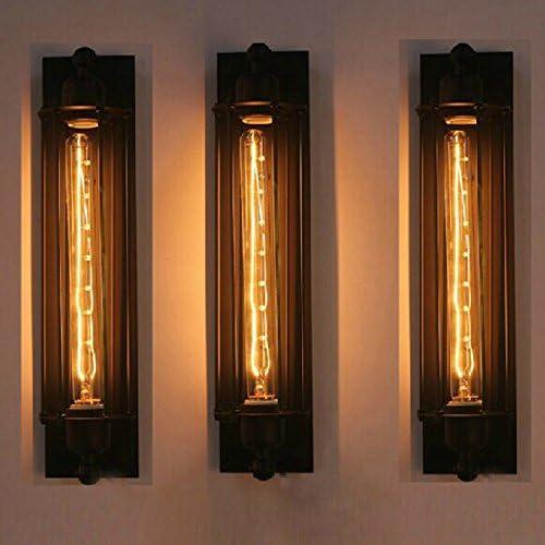 avvioU Applique LED su e giù per lampade Muro da muro Muro lampade di Ferro di qualità dell'illuminazione industriale ferro retrò luci da parete ristorante bar corridoio luci a parete singola testa 4b4f65