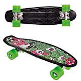 Street Surfing Skateboard FUEL board-melting, bianco, 55 cm, 500291