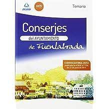 Conserje del Ayuntamiento de Fuenlabrada. Temario