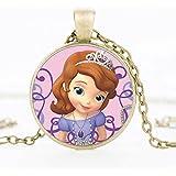 "El Regalo's ""Sofia The First"" Princess Necklace | Sofia Kids Jewelry For Girls"