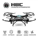 EACHINE H8C Cuadricóptero Con Cámara 2.4G 6-Axis RC Teledirigido Quadcopter RTF Modo 2 (Negro) - Best Reviews Guide