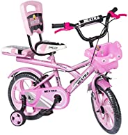 Speed Bird Baby Cycle 14-T Robust Double Seat Kid Bicycle for Boys & Girls - Age Group 3-6 Years (Baby P