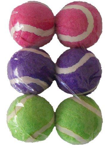Dog Toy-Pack mini pelotas tenis. Colores surtidos