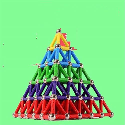 BABIFIS Puzzle Barra de Juguetes magnéticos Puros a Granel 630 Piezas de Bloques de Montaje magnéticos Fuerza Intelectual de los niños Mujer Niño de 3 a 10 años