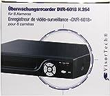 VisorTech Überwachungsrecorder DVR-6018 H.264 für 8 Kameras, PX-3727-675