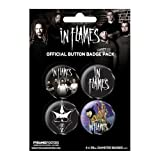 In Flames - Button Set