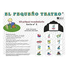 MI PRIMER VOCABULARIO: SERIE 3 (EL PEQUEÑO TEATRO KAMISHIBAÏ t. 17) (French Edition)