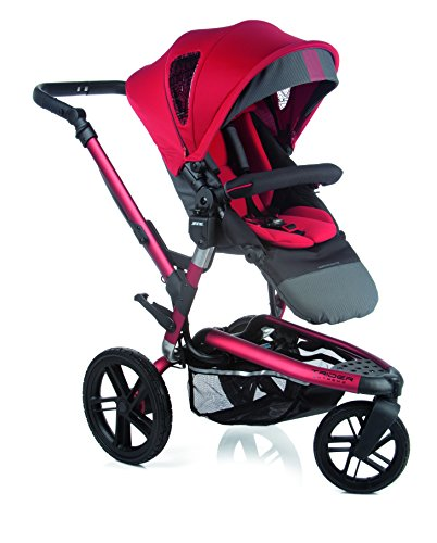 Jane 5392 S13  Kinderwagen-Set Trider Extreme Matrix, Scarlet