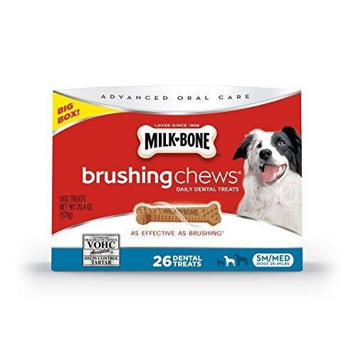 milk-bone-brushing-chews-daily-dental-dog-treats-small-medium-204-oz-by-big-heart-pet-brands-pet