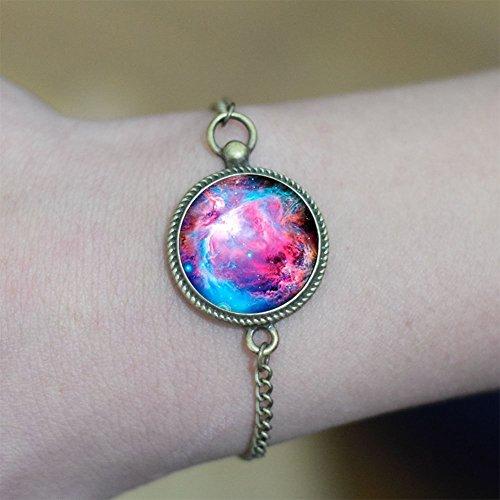 Galaxy Space braccialetto, braccialetto di fascino Galaxy Space, unico braccialetto, regalo di compleanno, regalo, braccialetto splendido braccialetto Best Friend Gifts elegante