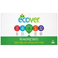 Ecover Laundry Tablets 32 Tablets (Pack of 5, Total 160 Tablets) 25