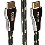 UPTab HDMI 2.1 12ft Cable 8K 120Hz HDR 48Gbps Ethernet & Enhanced Audio Return (eARC) (12FT)