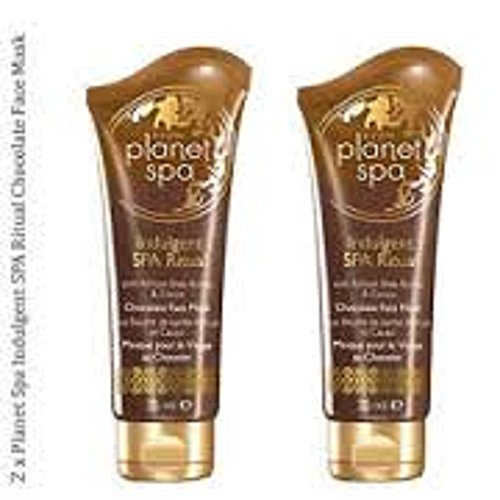2-x-planet-spa-indulgent-spa-ritual-shea-butter-and-cocoa-chocolate-face-mask-75ml