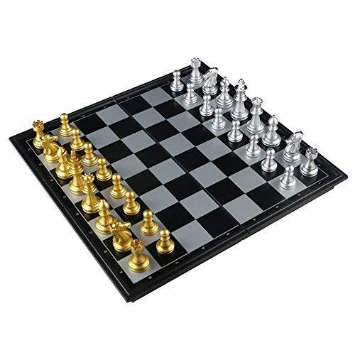 Voyage d/'échecs jeu en bois board magnétique jeu vintage pliant portable urban home