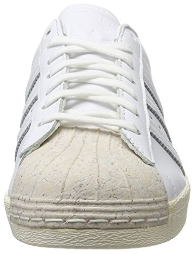 adidas Superstar 80s Cork, Scarpe da Ginnastica Basse Donna Bianco (Footwear White/footwear White/off White)