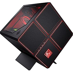 OMEN X by HP (900-251ng) Gaming Desktop PC (Intel Core i9-7900X, 32 GB DDR4 RAM, 512 GB SSD, 3 TB HDD, NVIDIA GeForce GTX 1080 Ti (11 GB GDDR5X dediziert), Windows 10) schwarz
