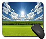 Mausp0975 Mauspad Wiese Natur Sonennschein Feld Mausunterlage Mausmatte Mousepad Pc Computer NEU