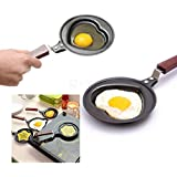 SMB Heart Shape Mini Egg/Omlette Fry Pan