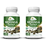 2 Bottles of Moringa Tablets - 120 Table...