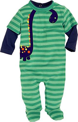 Schnizler Pyjama Overall Dino-Pijama Bebé niños Verde verde 18 meses