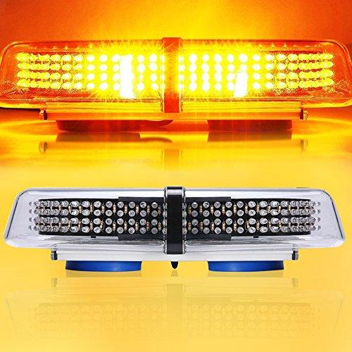 FiveFire Rundumleuchte, LED Warnleuchte Warnlicht Alarm Licht Warnblinkleuchte mit Magnetfuß Blinkleuchte KFZ 12V Gelb