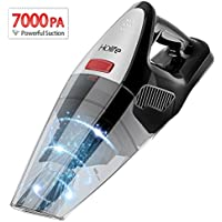 Holife Handheld Vacuum Cleaner, 7Kpa 100W Cordless Hand Vacuum, Rechargeable LG Lithium Battery with LED Charging Indicator, Multiple_extension for Wet/Dry/Home/Car Use