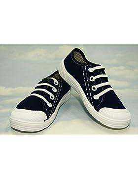 Bajo–High Top Zapatillas Zapatillas, Niños, Niños, Niñas, unisex, lanced, Velcro, Caucho, Slip–On, Nice, multicolor...