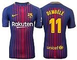 Trikot Kinder FC Barcelona 2017-2018 Home - Dembele 11 (152)