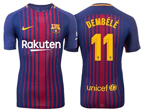 Trikot Kinder FC Barcelona 2017-2018 Home - Dembele 11 (152) -