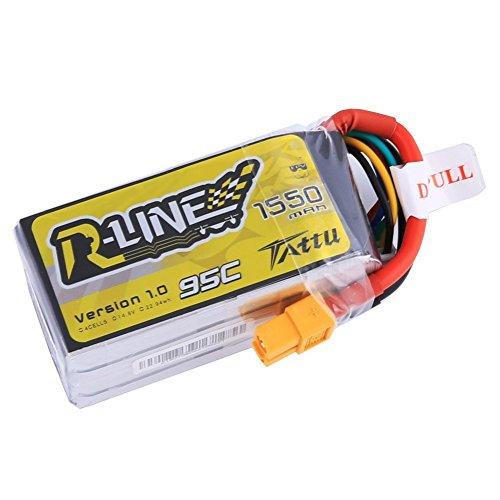 Tattu Rline Batería LiPo 14,8V 1550mAh 95C 4S Plug XT60 para el...