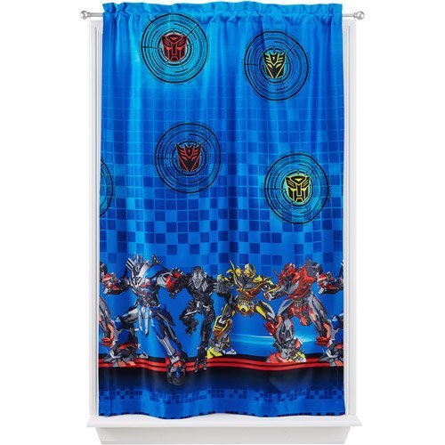 Room Darkening Polyester Curtain Panel Transformers 4