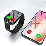 Montre Connectée compatible avec Apple iOS Samsung Android et Windows Bluetooth 4.0...