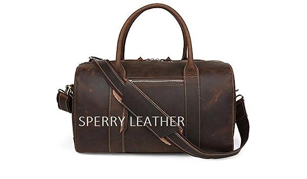 beb0b1f7608f52 Sperry leather LUXURY DUFFLE BAG/BROWN LEATHER LUGGAGE BAG/DUFFLE BAG,  Genuine Leather Vintage Duffle Gym Travel Luggage Bag - Buy Sperry leather  LUXURY ...