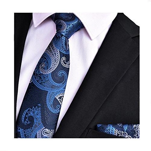 Mr.Van Clásica de hombre corbata y bolsillo cuadrado Set ,...