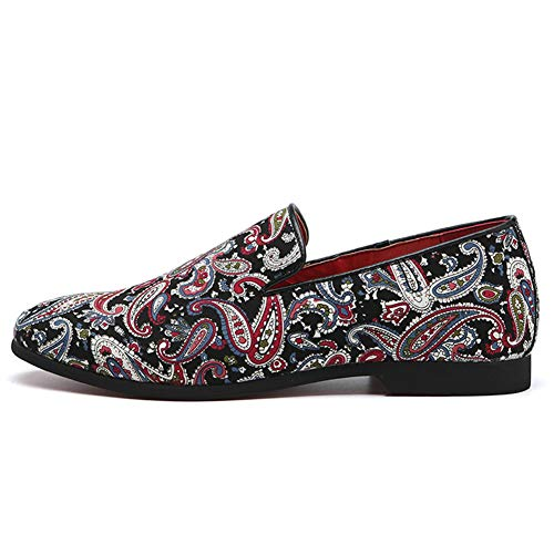 Herren Formelle Kleidung Schuhe Leder Slipper Bequeme