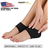 Plantar Fasciitis Foot Arch Support Wrap By Mello - Graduated Pressure Technology That Relieves From Pain, Prevents Fatigue, Aids Quick Muscle Recovery - Premium Quality, Breathable Material