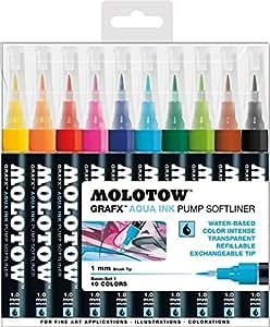 Molotow GRAFX Aqua Ink 10er Basic Set 1