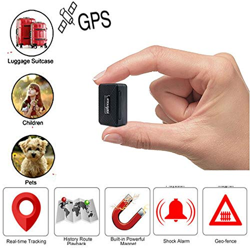 TKSTAR Mini-GPS-Tracker, Anti-Verlust, Diebstahl-Tracker, Gerät für Kinder, ältere Menschen, Geldbörse, Gepäck