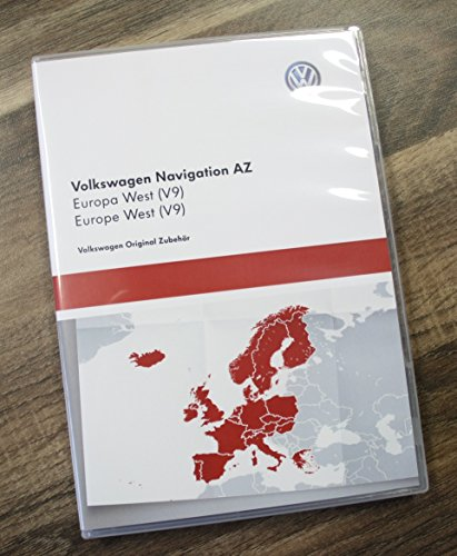 Original Volkswagen SD-Karte Navigation AZ Version V9 (2016) Europa West RNS 315 Navigationssystem Software Update 3AA051866AM