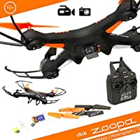 zoopa Q 420 Cruiser 2.4GHz 6-Axis Gyro RC Quadcopter Drone with Integrated HD Camera
