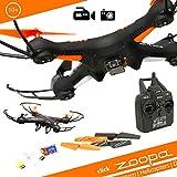 zoopa ZQ0420 - Acme - Q 420 Cruiser Quadrokopter, 720p HD Cam, 6-Achsen Gyro System, 2.4 GHz Fernbedienung, Propellerschutz, 360 Grad Flip